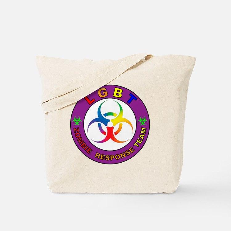 LGBT ZRT Rainbow Tote Bag