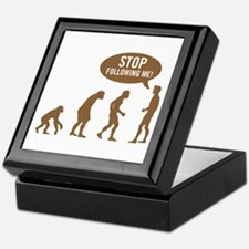 Evolution is following me Keepsake Box
