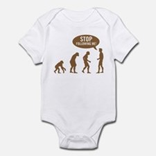 Evolution is following me Infant Bodysuit