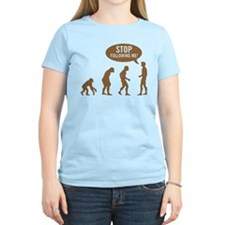 Evolution is following me T-Shirt