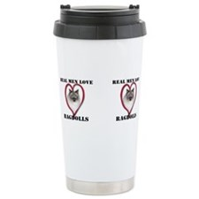Cute Ragdoll Travel Mug