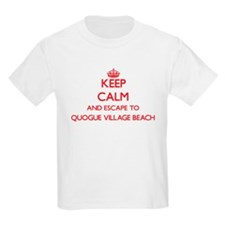 Keep calm and escape to Quogue Village Bea T-Shirt