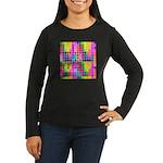 Just Keep Tracking Women's Long Sleeve Dark T-Shir