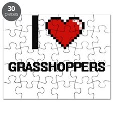 I love Grasshoppers Puzzle