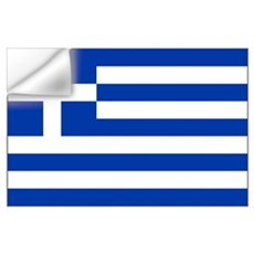 Greece Flag Wall Decal
