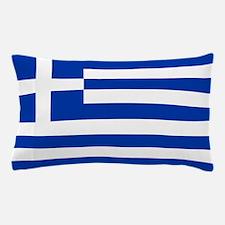 Greece Flag Pillow Case