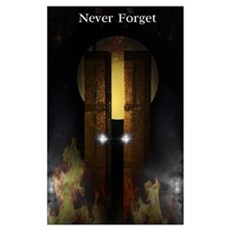 Twin Towers Memorial Poster