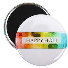 happy holi (bokeh) Magnets