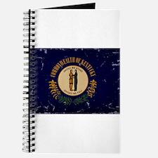 Kentucky State Flag VINTAGE Journal