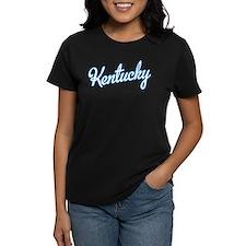 Kentucky Script Blue Tee