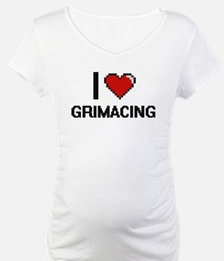 I love Grimacing Shirt
