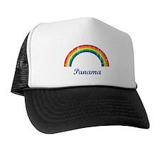 Panama (vintage rainbow) Trucker Hat