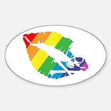 poison rainbow kiss Decal