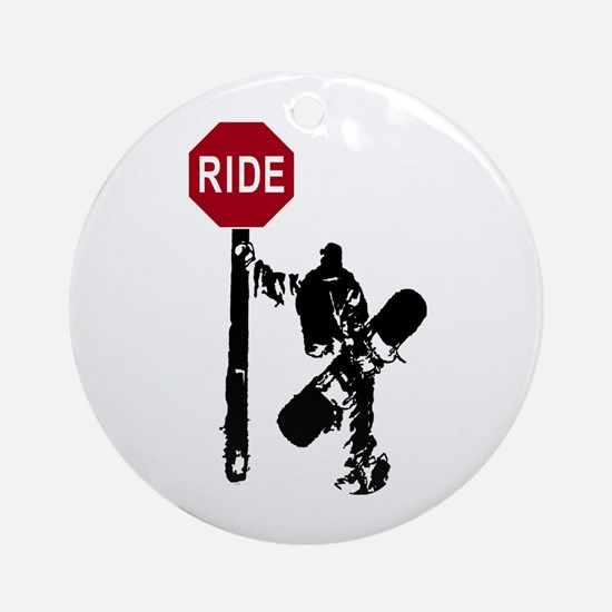 RIDE Ornament (Round)