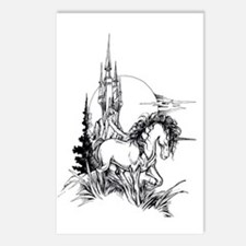 Majestic Unicorn Postcards (Package of 8)
