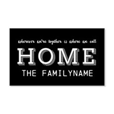 Home Is... Personalized Wall Sticker