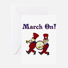 March On Greeting Card