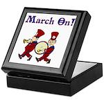 March On Keepsake Box