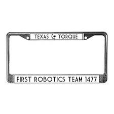 Texas Torque License Plate Frame