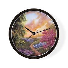 Early Texas Evening Wall Clock