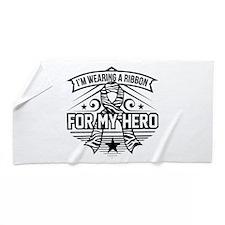 Ehlers-Danlos Syndrome Hero Beach Towel