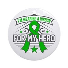 Neurofibromatosis For My Hero Ornament (Round)