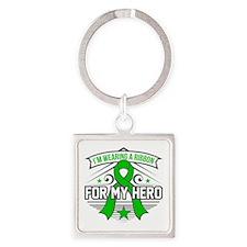 Neurofibromatosis For My Hero Square Keychain