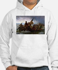 Washington Crossing the Delaware Hoodie