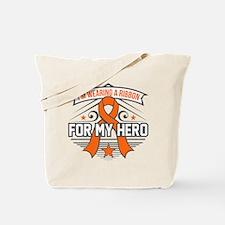 Multiple Sclerosis For My Hero Tote Bag