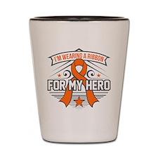 Multiple Sclerosis For My Hero Shot Glass
