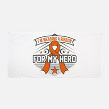 Multiple Sclerosis For My Hero Beach Towel