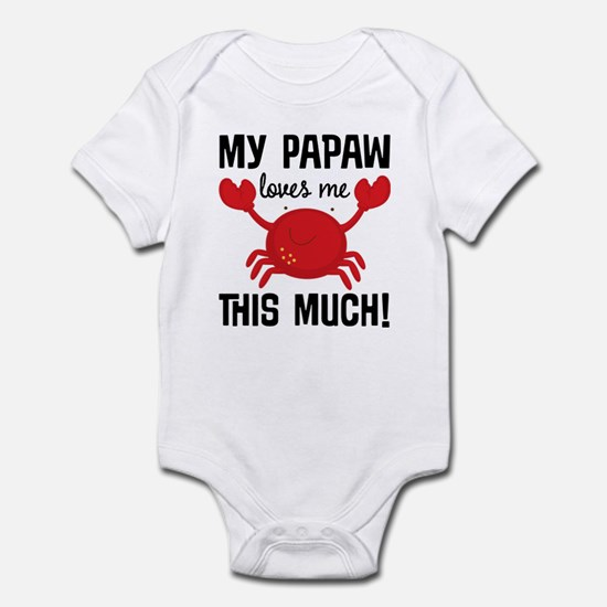 My Papaw Loves Me Infant Bodysuit