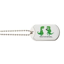 Cute Trex Dog Tags