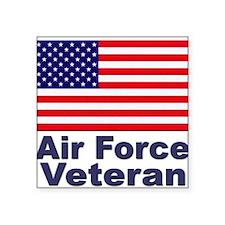 "Cute Us air force Square Sticker 3"" x 3"""
