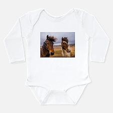 Icelandic horses Body Suit