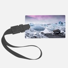 Glaciers of Iceland Luggage Tag