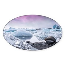 Glaciers of Iceland Decal