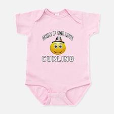 Curling Cool Designs Infant Bodysuit