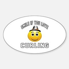 Curling Cool Designs Decal
