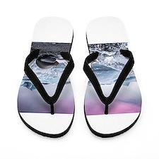 Glaciers of Iceland Flip Flops