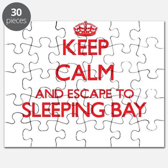 Keep calm and escape to Sleeping Bay Michig Puzzle