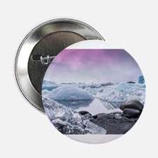 """Glaciers of Iceland 2.25"""" Button"""