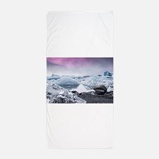 Glaciers of Iceland Beach Towel