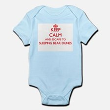 Keep calm and escape to Sleeping Bear Du Body Suit