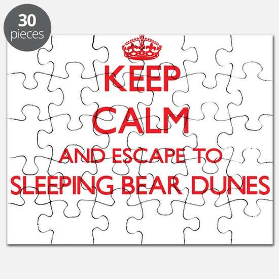 Keep calm and escape to Sleeping Bear Dunes Puzzle