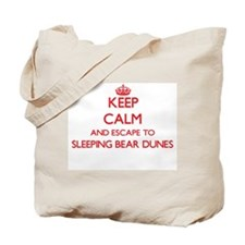 Keep calm and escape to Sleeping Bear Dun Tote Bag