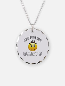 Darts Cool Designs Necklace
