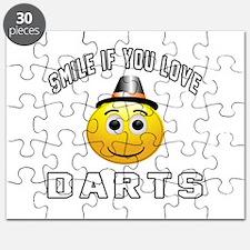 Darts Cool Designs Puzzle