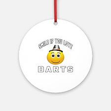 Darts Cool Designs Ornament (Round)