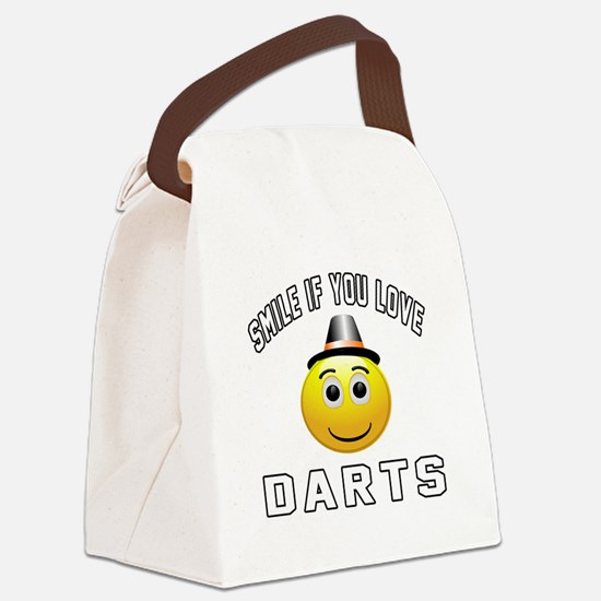 Darts Cool Designs Canvas Lunch Bag